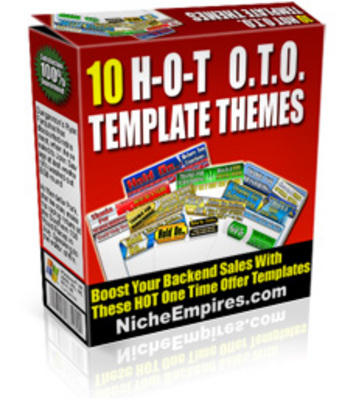 Pay for *NEW!* 10 Oto Templates With Flash Button! Mrr