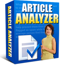 Pay for *NEW!* Article Analyzer -Resale Rights   Get More Targeted Search Engine Traffic With Articles Optimized