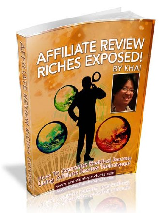 Thumbnail  *NEW!*	  Affiliate Review Riches - Money Making Affiliate Review Sites Exposed   - Master Resale Rights