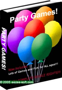 Pay for *NEW!* Party Games for Children, Teens and Adults Ebook