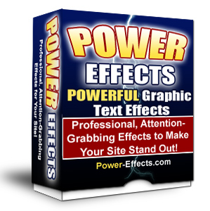 Thumbnail  *NEW!*	  Power Effects New Version 2 - Just Point and Click to Create Effects Like These!  - Master Resale Rights