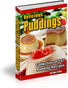 *NEW* Delicious Pudding Recipes  Collection of 167 Pudding Recipes w Resale Rights