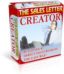 *NEW*  Sales Letter Creator Software   Build Your Website And Write Your