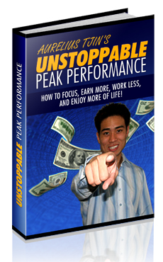 *NEW!* Unstoppable Peak Performance -  MASTER RESALE RIGHTS - Discover How To Break Free From Any Obstacle