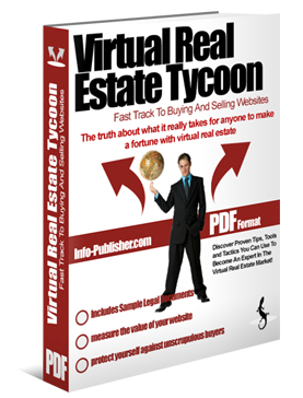 Pay for *NEW!* VIRTUAL REAL ESTATE TYCOON - MASTER RESALE RIGHTS | The Fast Track To Buying And Selling Websites
