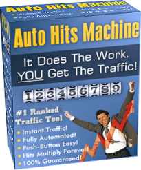 *NEW!*  Web Site Traffic Generator: Auto Hits Machine - Resale Rights