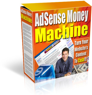 *NEW!*  Adsense Money Machine With Master Resell Rights | Open Endless Income S