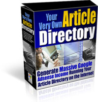 *NEW*  Article Site Directory  - Resale Rights | Your Very Own Article Director
