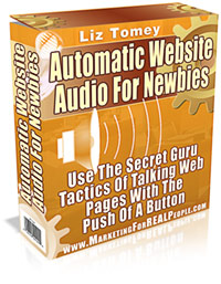 Pay for *NEW!* Automatic Web Site Audio For Newbies - MASTER RESALE RIGHTS - Add Audio to Your Website in 5 Minutes Flat