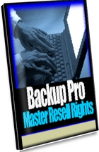 Pay for *NEW!* Backup Pro Software Master Resell Rights
