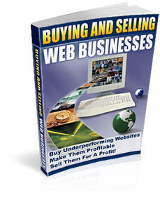 *NEW!*  Buying and Selling Web Businesses  MASTER RESALE RIGHTS | How to Buying and Selling Websites