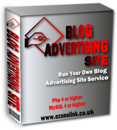 *NEW!*  Blog Advertising Site Script – MASTER RESALE RIGHTS   Run Your Own Blog