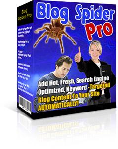 *NEW* Blog Spider Pro | AutoBlog Builder script Download PHP