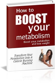 Pay for *NEW!* Boost Your Metabolism and Lose Weight Easily - Private Label Rights | Transform Your Metabolism Into A Calorie Burning Machine