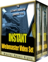 Pay for *NEW*  Instant WebMaster Video Set! | MASTER THE WEB IN MINUTES