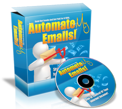 Pay for  *NEW!*   AutomateMyEmails - Get Paid For Sending Out Emails!  - Master Resale Rights