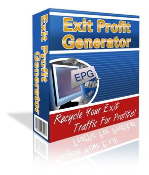 Thumbnail  *NEW!*	 Exit Profit Generator - Recycle Your Exit Traffic For Profits!   - Master Resale Rights
