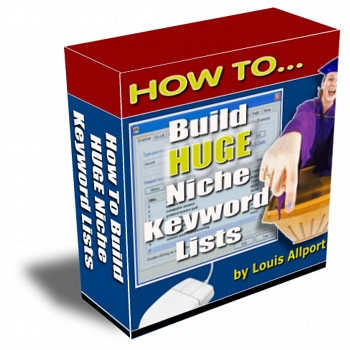 *NEW!* How To Build HUGE Niche Keyword Lists - Resale Rights