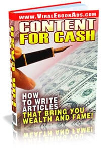 Pay for *NEW* Content For Cash - Resell Rights | How to Write Articles That Bring You  Wealth and Fame