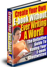 *NEW* Create Your Own Ebook Without Ever Writing A Word! - MASTER RESALE RIGHTS