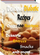 Pay for *NEW!*  Delicious Diabetic Recipes  - MASTER RESALE RIGHTS