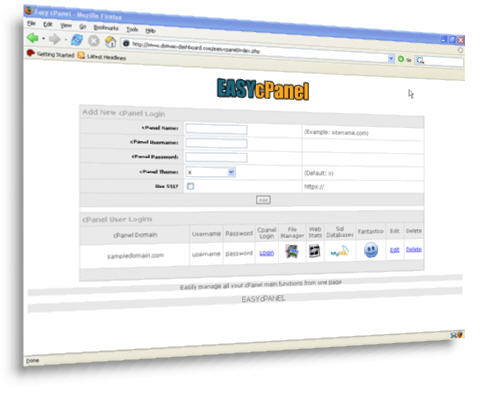 *NEW*  EASY cPanel and EZDatabase | Easily Manage All Of Your cPanel Main Funct