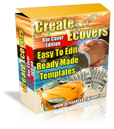 Pay for *NEW!* Create eCovers Made Easy - MASTER RESALE RIGHTS | Software Box Creator with PhotoShop