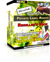 *NEW!* Guide to Private Label Rights V.2 - With PLR   Cash In On The PLR Phenomenon!