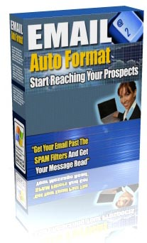 *NEW!* Email Auto Format  Get Your Email Past The SPAM Filters! MASTER RESALE RIGHTS