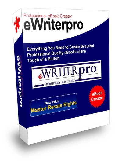 Thumbnail *NEW!*	 eWriterPro Professional Ebook Creator - Master Resale Rights