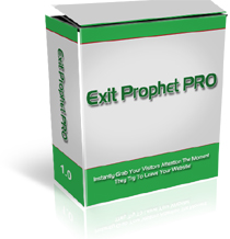 Pay for *NEW!* Exit Prophet Pro - PRIVATE LABEL RIGHTS |Make money when people try to abandon your website