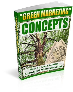 *NEW!* Eco Niche Marketing -  Resale Rights | How To Cash In Ecological Niche Marketing