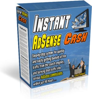 *NEW* Instant Adsense Cash - MASTER RESALE RIGHTS | Start Making Serious AdSense Commissions