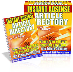 Pay for *NEW!* Instant Adsense Article Directory - MASTER RESALE RIGHTS | Have Your Very Own Adsense Cash Cow With A Simple Article Directory