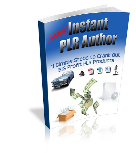 Pay for *NEW!* Instant Private Label Author | Learn How to Crank Out Hot Selling PLR Products