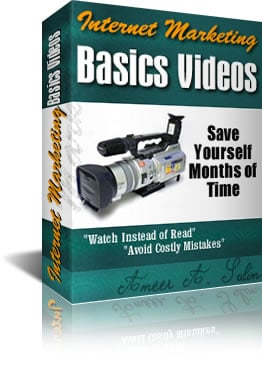 Pay for *NEW!* Internet Marketing Basics Videos - 291 Minutes of Exclusive Video Tutorials
