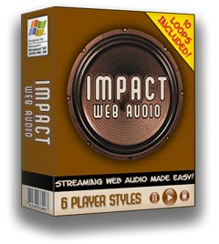 Pay for *NEW!* Impact Web Audio Software | Streaming Web Audio Made Easy!