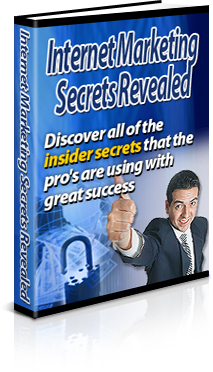 *NEW!*  Internet Marketing Secrets Revealed - PRIVATE LABEL RIGHTS | Discover A
