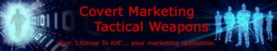 *NEW*  Covert Marketing Tactics Tool Kit | Intratrakker Marketing Intelligence Software
