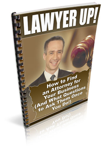 Pay for *NEW!* Lawyer Up  - RESALE RIGHTS    You Need to Protect Your Internet Business!