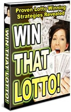 *NEW!*  That Lotto  Proven Lotto Winning Strategies Revealed  MASTER RESALE RIGHTS