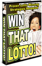 Pay for *NEW!*	 That Lotto - Proven Lotto Winning Strategies Revealed - MASTER RESALE RIGHTS