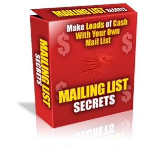 Pay for *NEW!* Mailing List Profits - MASTER RESALE RIGHTS | Make Money With Every Way Possible From Your Mailing List At Cult Status!