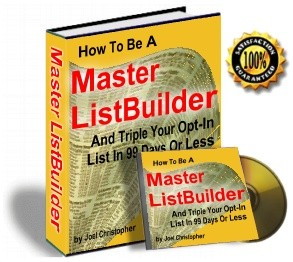 *NEW!* How To Be A Master List Builder And Triple. Your OptIn List In 99 Days