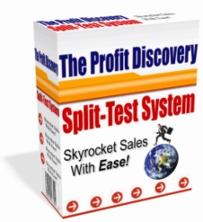 Pay for *NEW!*  The Profit Discovery Split Test System -PRIVATE LABEL RIGHTS | Easily Increase Your Web Site Profits By Up To 243!