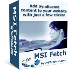 Pay for *NEW!*  MSI Fetch  - PRIVATE LABEL RIGHTS | How to Add RSS Feeds to your Website that Search Engines Love!