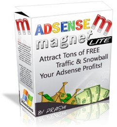 Pay for *NEW!* AdSense Magnet - Lite  - MASTER RESALE RIGHTS | Attract Tons of FREE Traffic & Snowball Your Adsense Profits!