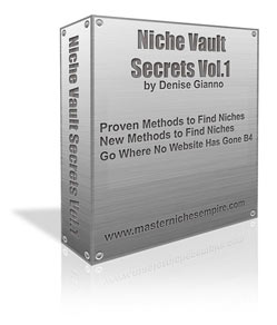 Thumbnail *NEW!*	   Niche Vault Secrets   - How to Research the Moneymaking Capabilities of a Niche- Master Resale Rights