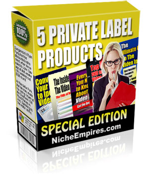 Pay for *NEW!* 5 Private Label Products Special