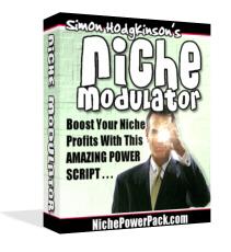 *NEW!*   Niche Modulator Software Script w Master Resell Rights   Boost Niche P
